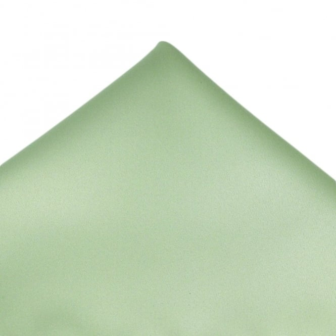 Plain Sage Green Pocket Square Handkerchief
