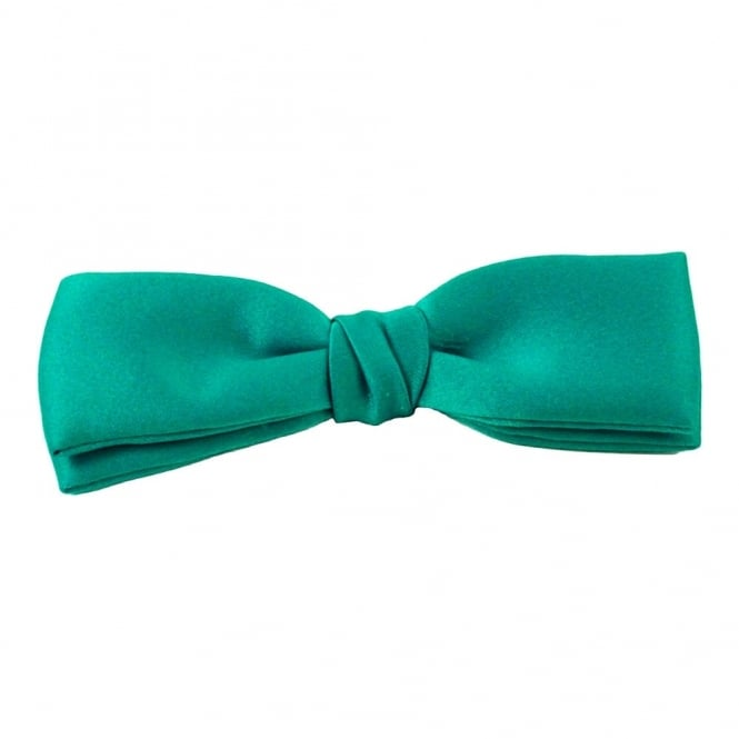 Plain Spring Green Men's Bow Tie