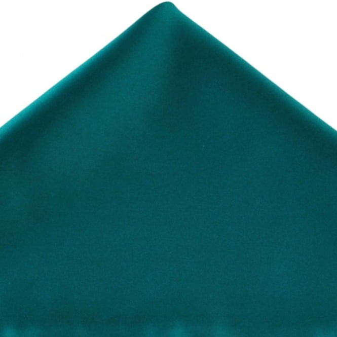 adcf702ec70c Plain Teal Green Pocket Square Handkerchief from Ties Planet UK