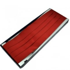 Plain Wine Red Cummerbund