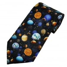 Planets of the Solar System Men's Novelty Tie