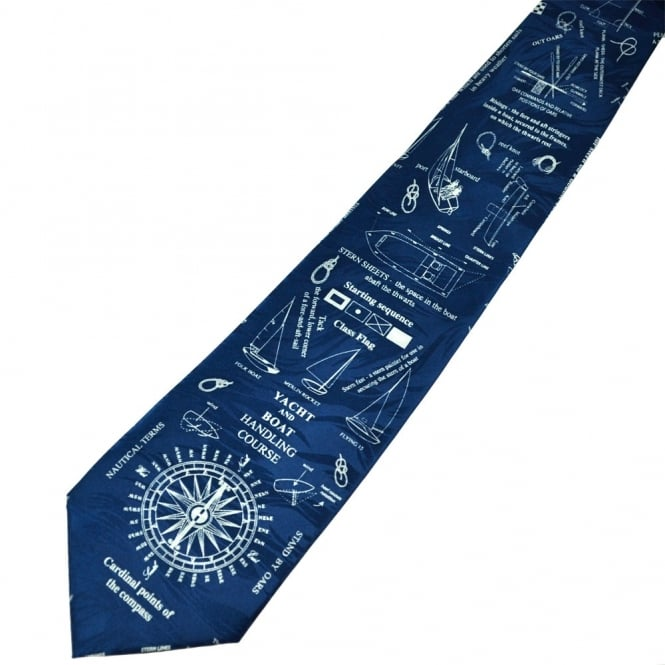 Principles of Sailing Novelty Tie