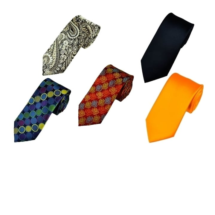 Win 5 New Ties! One for every day of the working week