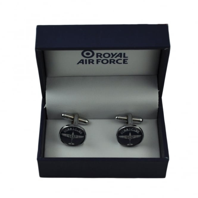RAF Cufflinks - Hurricane Plane Blueprint