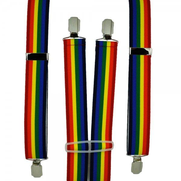 rainbow pin pride Gay tie