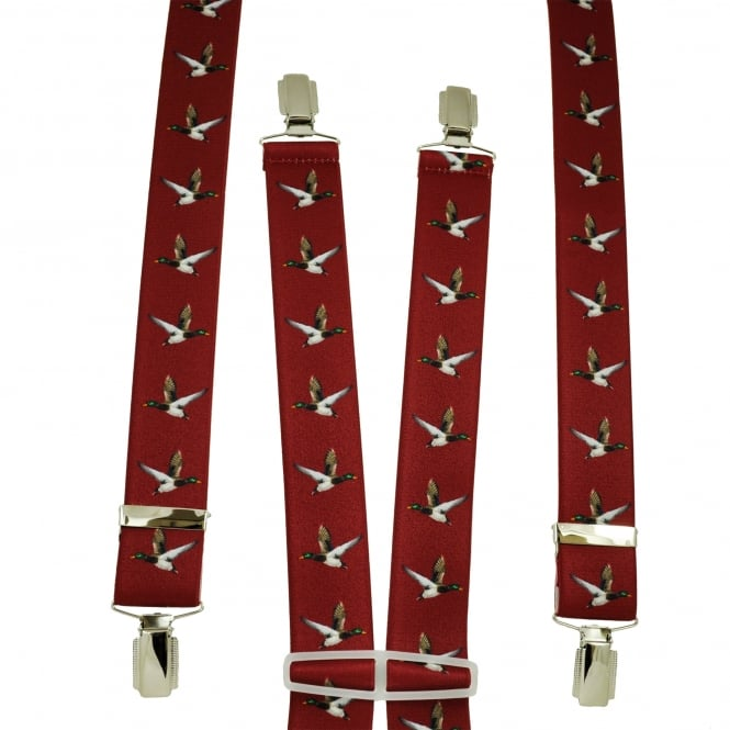 Red Flying Duck Men's Trouser Braces