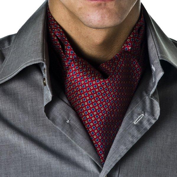 geometric pattern casual cravat from ties planet uk
