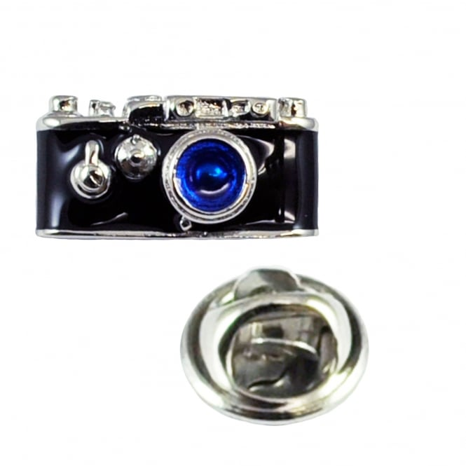 Retro Camera Lapel Pin Badge