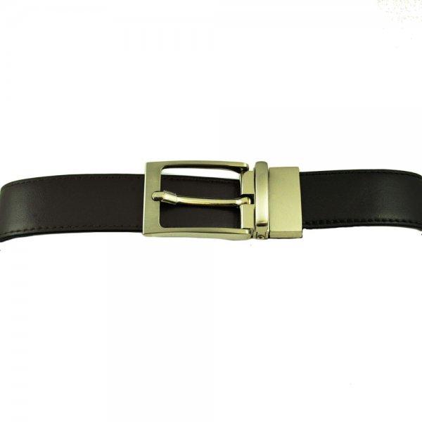 reversible black brown s leather belt from ties