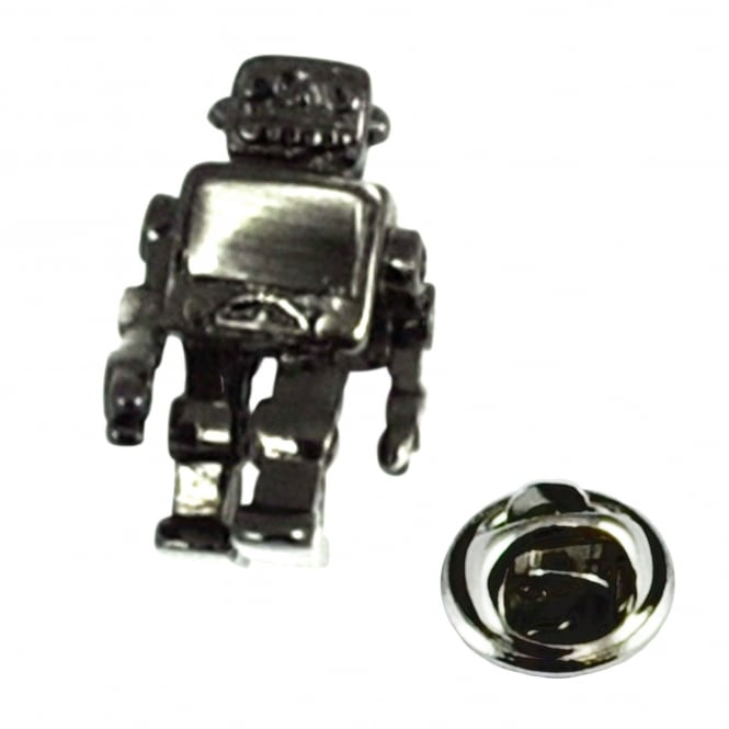 Robot Lapel Pin Badge