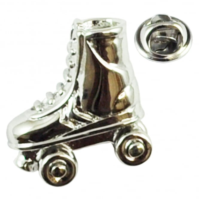 Roller Skates Lapel Pin Badge