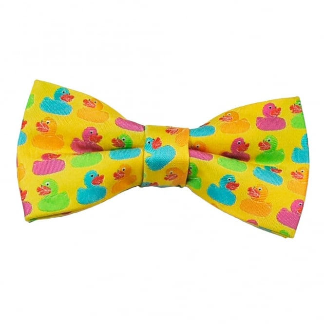 Rubber Ducks Novelty Bow Tie