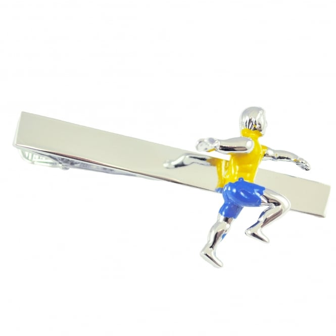 Runner Running Athletics Tie Clip