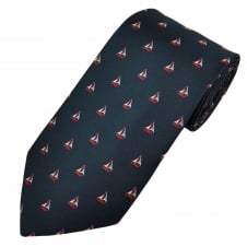 Sailing Boats Navy Blue Men's Novelty Tie