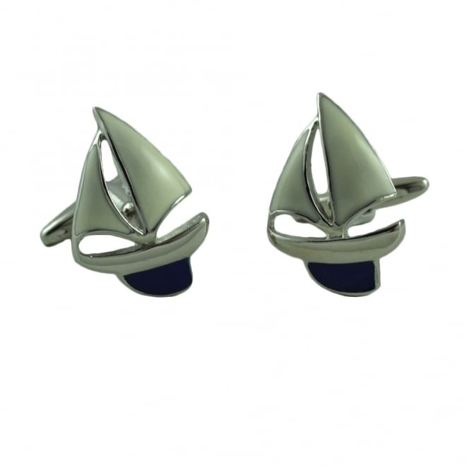 Sailing Yacht Novelty Cufflinks