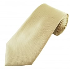Sandy Beige Micro Checked Patterned Men's Tie