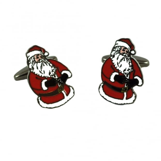 Santa Claus Father Christmas Cufflinks