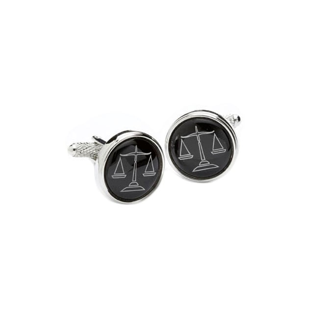 Scales Of Justice Novelty Cufflinks