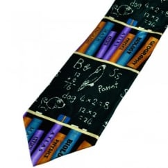School Books & Primary School Blackboard Novelty Tie