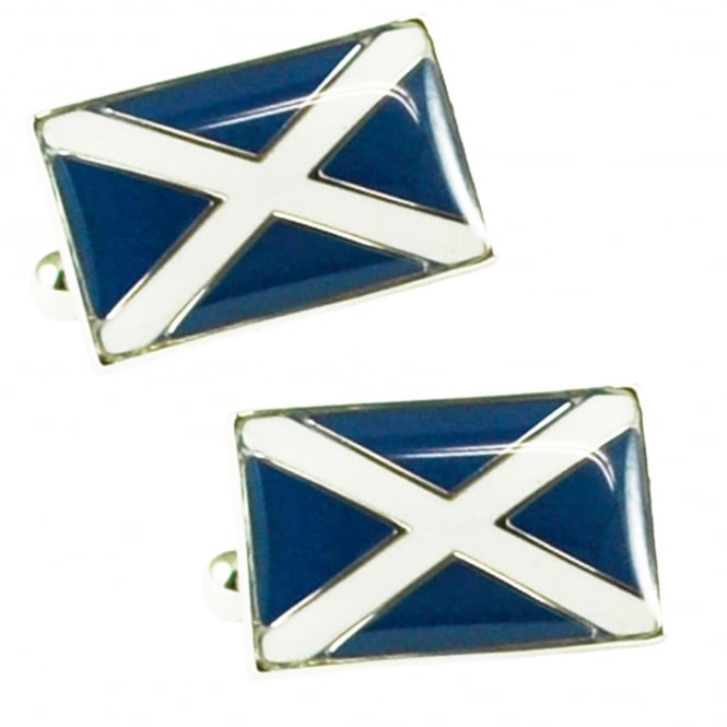 Scotland Flag Novelty Cufflinks