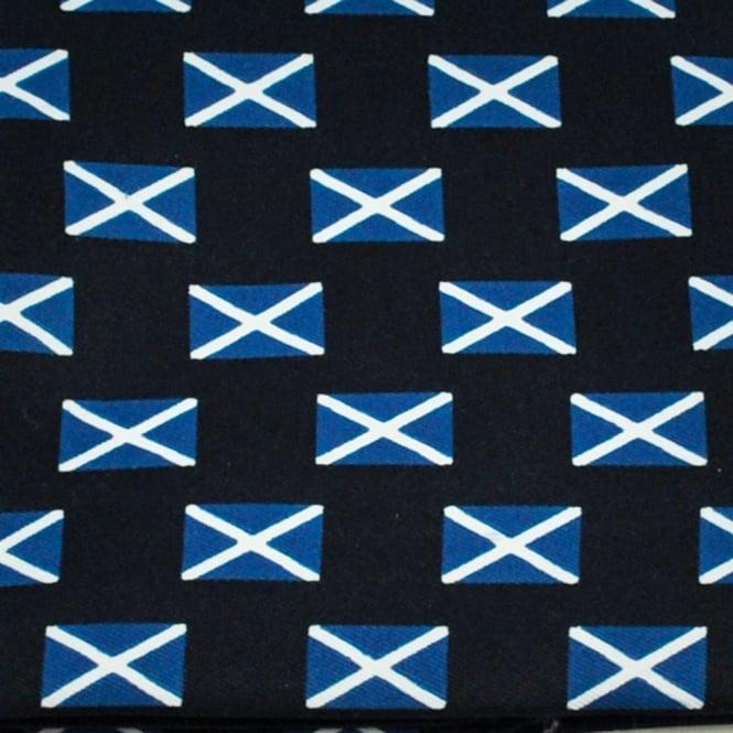 Scotland Flag Novelty Pocket Square Handkerchief