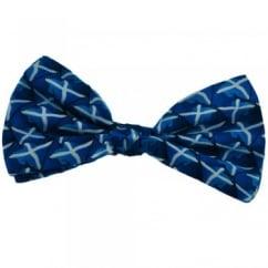 Scotland Flag Silk Bow Tie