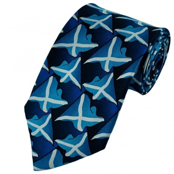 Scotland Flag Silk Tie