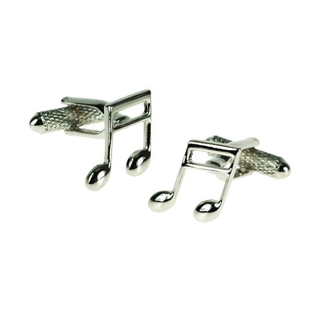 Semi Quaver Music Note Novelty Cufflinks