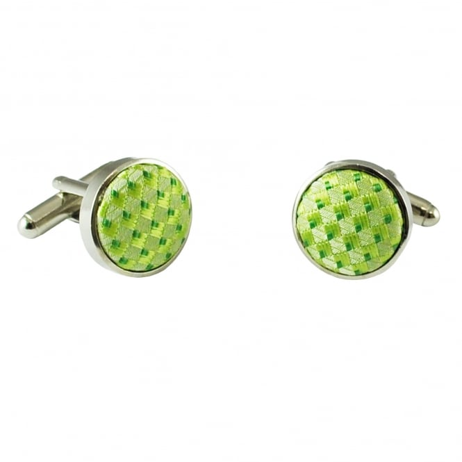 Shades Of Green Cufflinks