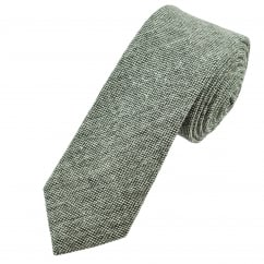 Shades of Grey Men's Woven Tweed Tie