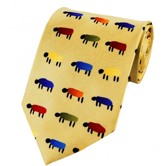 Sheep Silk Novelty Tie