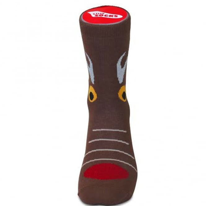 Silly Socks - Reindeer Men's Novelty Christmas Socks