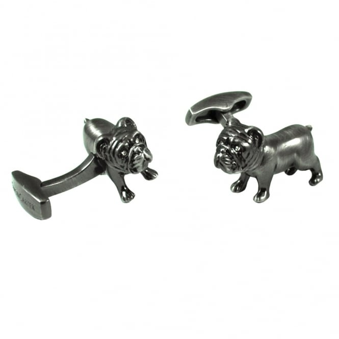 Simon Carter Pursuits Bulldog Cufflinks