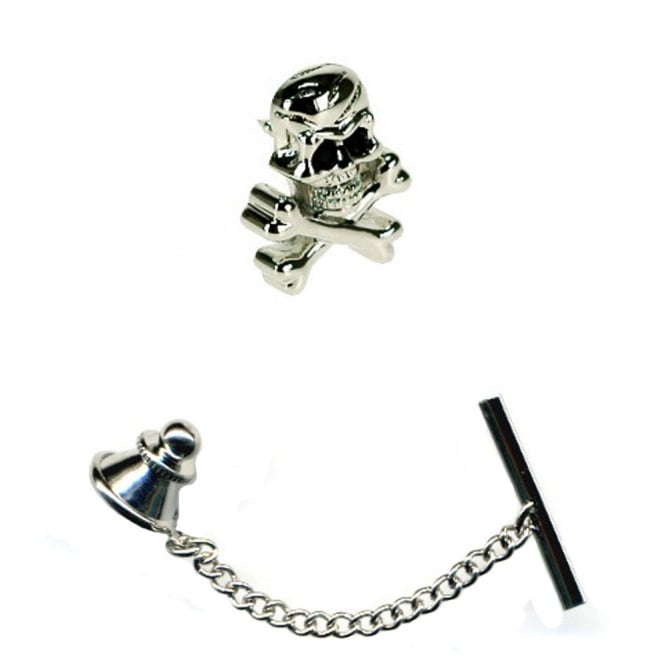 Click to view product details and reviews for Skull Crossbones Tie Pin.