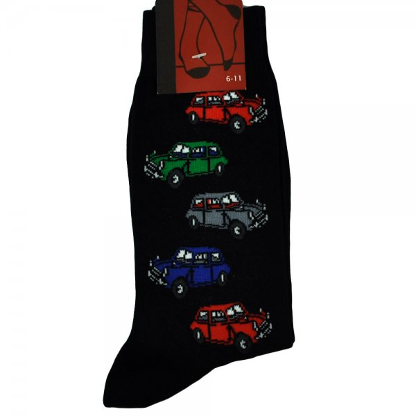 Cool Car Gifts For Guys: Small Cars Men's Novelty Socks From Ties Planet UK
