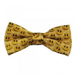 Smiley Faces Novelty Bow Tie