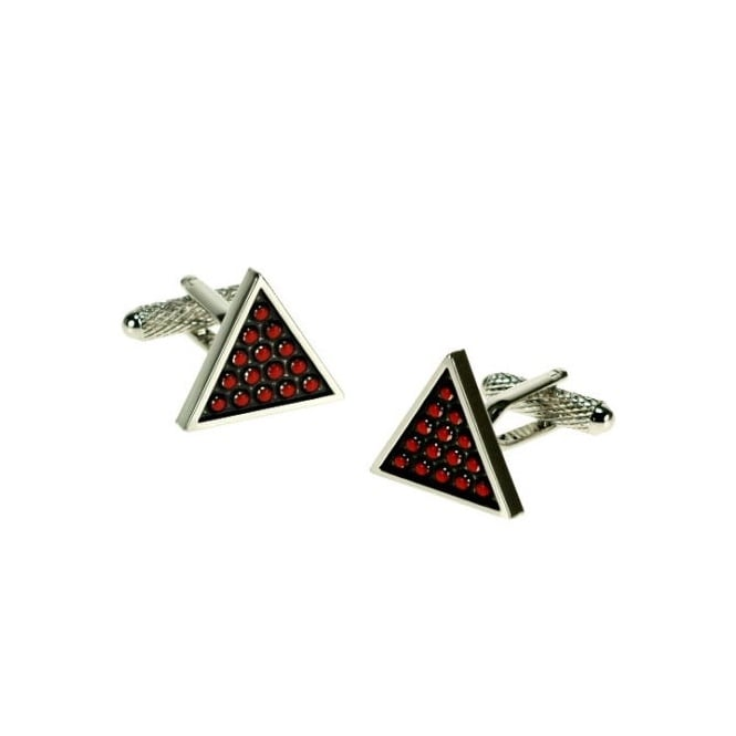 Snooker Triangle Novelty Cufflinks