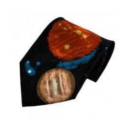 Solar System Novelty Tie