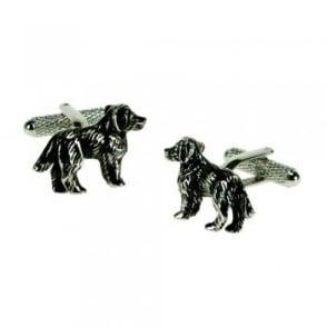 Spaniel Dog Novelty Cufflinks