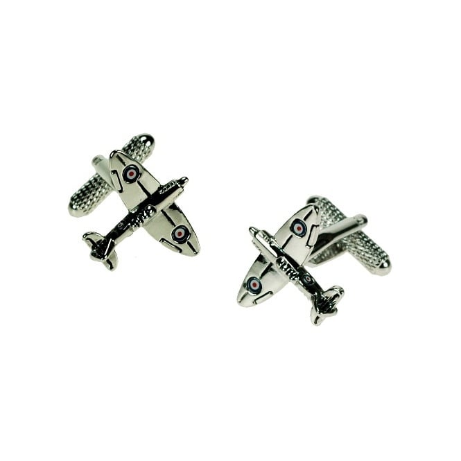 Spitfire Novelty Cufflinks