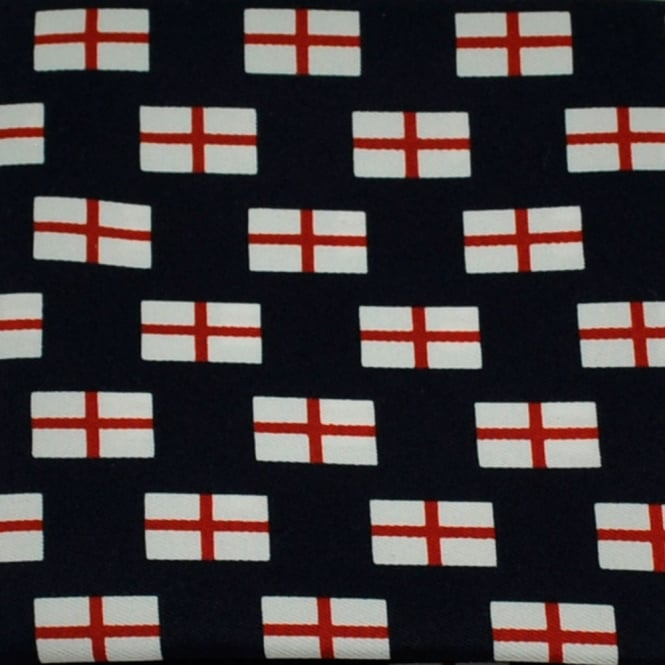 St George's Cross England Flag Novelty Pocket Square Handkerchief