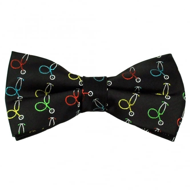 Doctors Ties Medical Necktie Stethoscope Black Mens Necktie