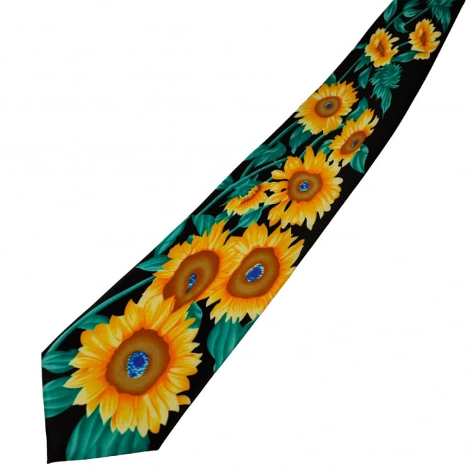 Sunflower Novelty Tie