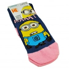 The Minions - Navy & Pink Women's Socks