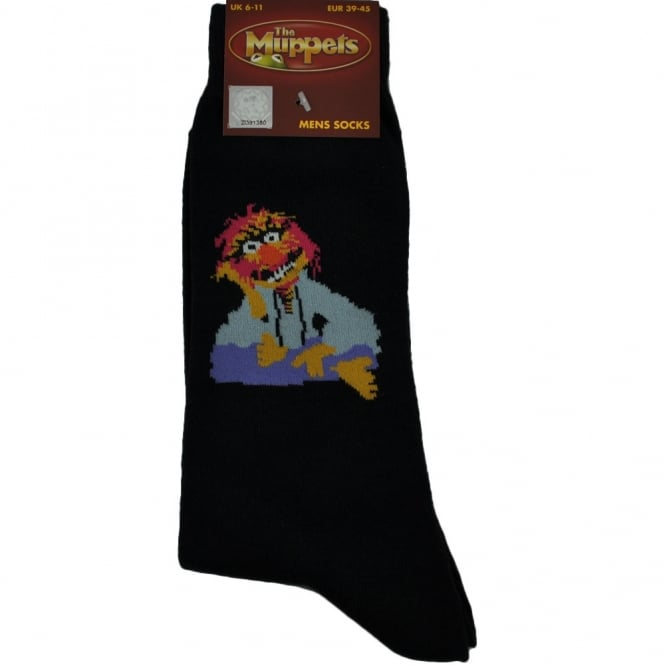 The Muppets Mens Novelty Socks - Animal Sitting