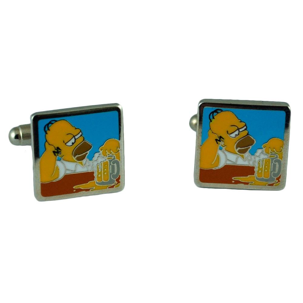 Homer Simpson Beer From Ties