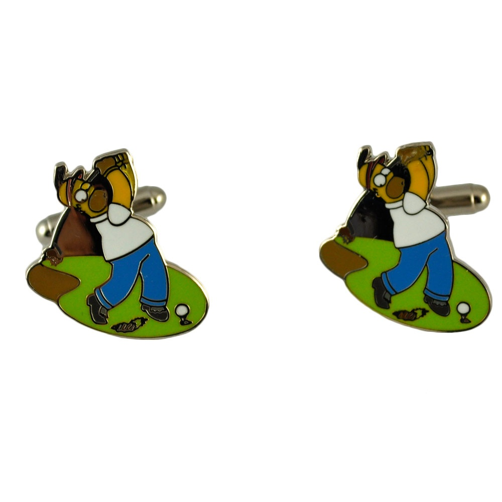 Homer Simpson Golf Swing From