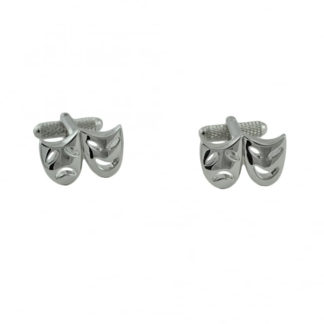 Theatre Drama Mask Novelty Cufflinks