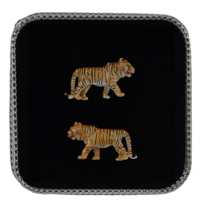 Tiger Wildlife Safari Animal Cufflinks