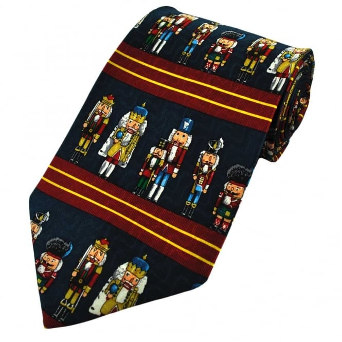 Toy Soldiers Silk Novelty Tie